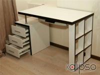 Письменный стол с тумбой -