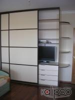 Шкаф-купе с встроенным телевизором -