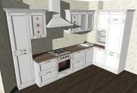 Кухня Флора прованс