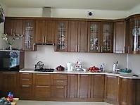 Кухня Модерн, бук, цвет Орех зелёный
